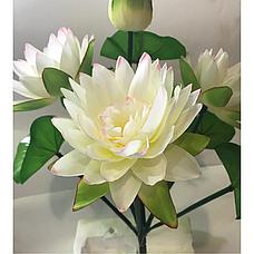 Искусственные цветы. Искусственный букет лотос., фото 3