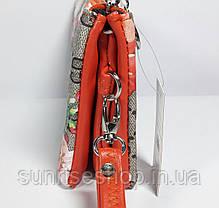 Женская косметичка- кошелёк три отдела , фото 3