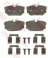 Колодки тормозные задние Volkswagen Transporter III/IV 96-