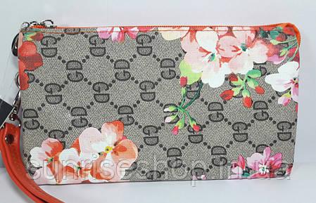 Женская косметичка- кошелёк три отдела , фото 2