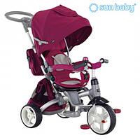 Велосипед 3-х колесный (6в1) Sun Baby (Little Tiger) Violet