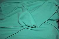 Ткань креп дайвинг жакард( фактурный рисунок на лице) мягкий,цвет мята