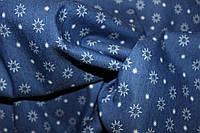 Ткань джинс плотная стрейч