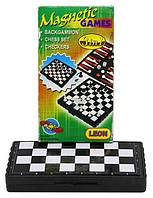 Шахматы пластик.магнит. 13*13 (3 в 1) 8831/2831