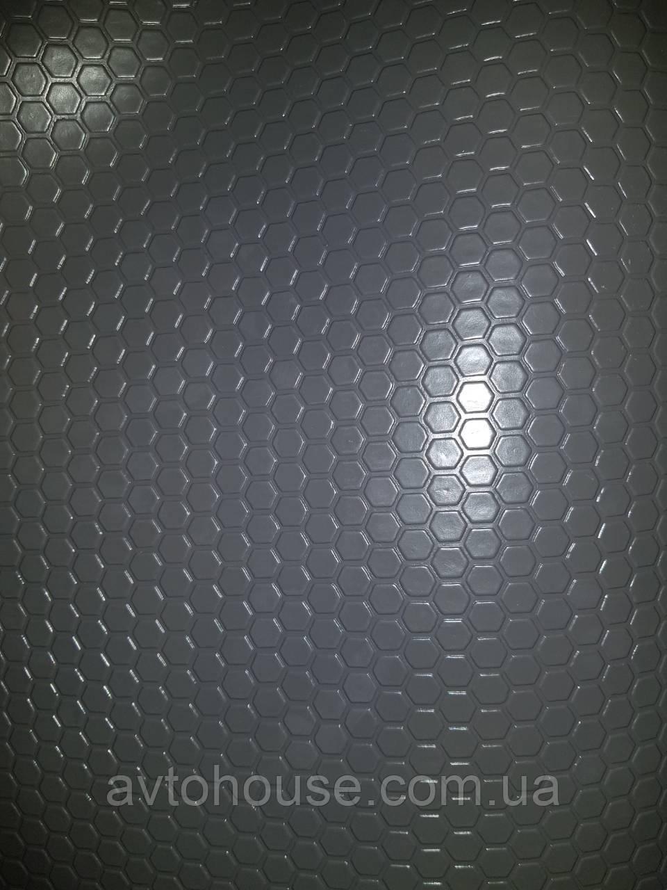 Автолинолеум, автолин серый «сота серая», шыр. 180 см., автомобильный линолеум Турецкий