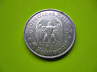 Серебро 900 пробы 5 рейхсмарок 1934 год ОРИГИНАЛ