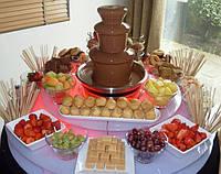 Шоколадный фонтан для праздничного стола Chocolate Fondue Fountain, шоколадный фондю