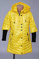 Куртка детская весенняя с трикотажными манжетами