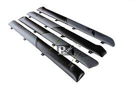 """Накладки дверные """"батоны"""" ВАЗ 2101, 2102, 2103, 2104, 2105, 2106, 2107 (серо-черные) «AutoElement»"""