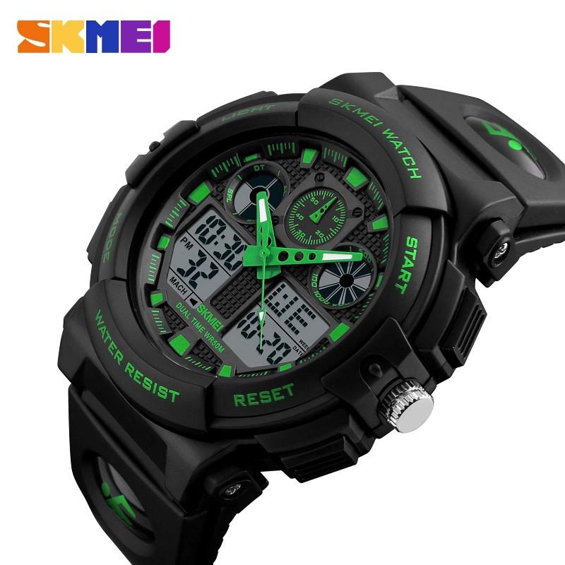 Спортивные водонепроницаемые часы Skmei 1270 Green
