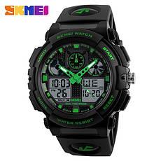 Спортивные водонепроницаемые часы Skmei 1270 Green, фото 3