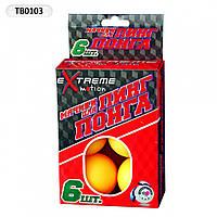 Шарики для настольного тенниса (6шт) 38см TB0103