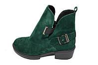 Ботинки замшевые Crisma 1721-4 Green, фото 1