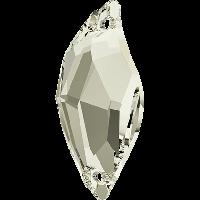 Кристали Swarovski пришивні 3254 Crystal Silver Shade