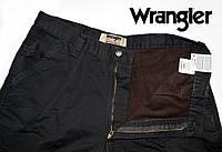 Брюки мужские на флисе Wrangler(США)карго/W36xL32/100% хлопок/Оригинал из США