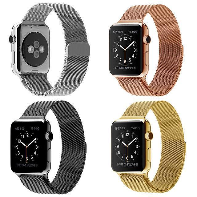 Ремешок браслет миланская петля Milanese loop Apple Watch 42\38 mm