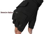 Тактические беспалые перчатки BlackHawk Черные, фото 1