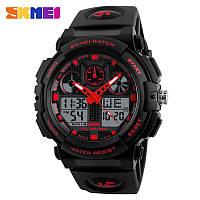 Спортивные водонепроницаемые часы Skmei 1270 Red, фото 1