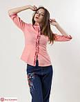 Модная блуза украшена машинной вышивкой, фото 2
