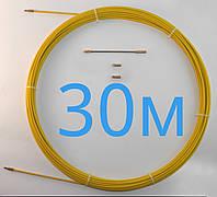 Протяжка кабельна 30м Ø 4мм профи | Мини-УЗК