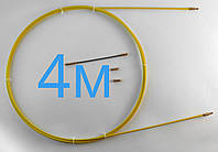 Протяжка кабельна 4м Ø 4мм профи | Мини-УЗК