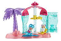 Fisher-Price Маленькие волшебницы Шимер и Шайн пляж Shimmer and Shine Teenie Genies Genie Beach Playset, фото 1