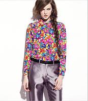 Оригинал. Распродажа. Рубашка INOMI с ярким цветочным принтом AB90205