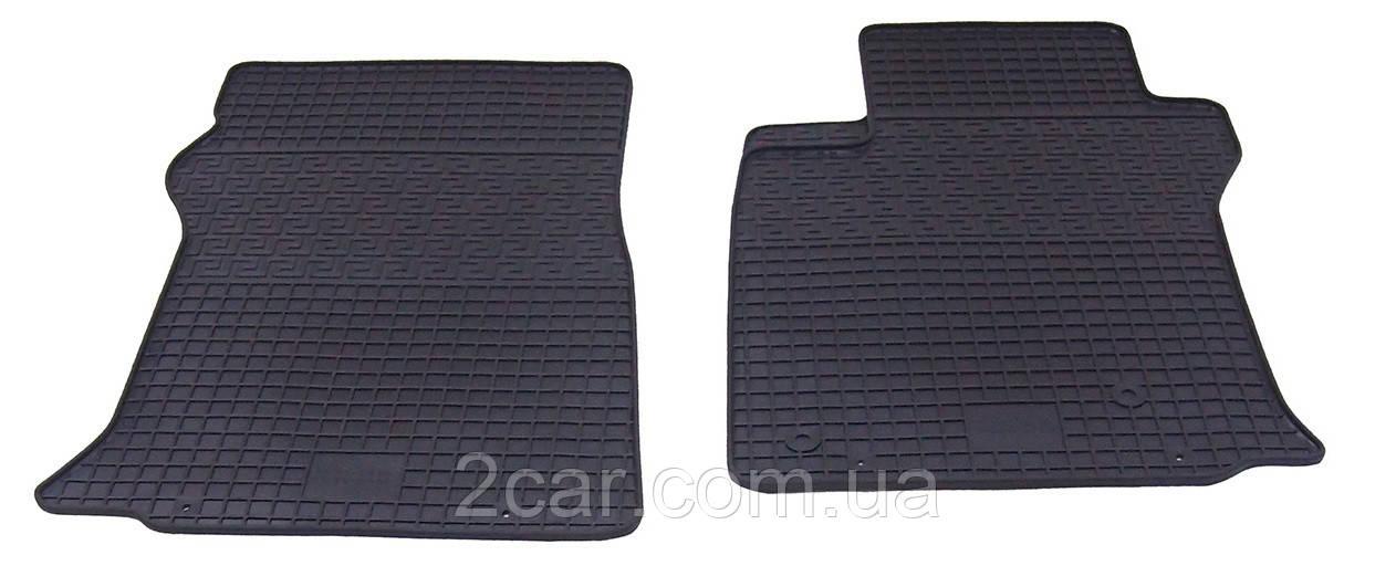Коврики резиновые в салон для Lexus GX 470 2002- (ПЕРЕД) (PolyteP_LUX)