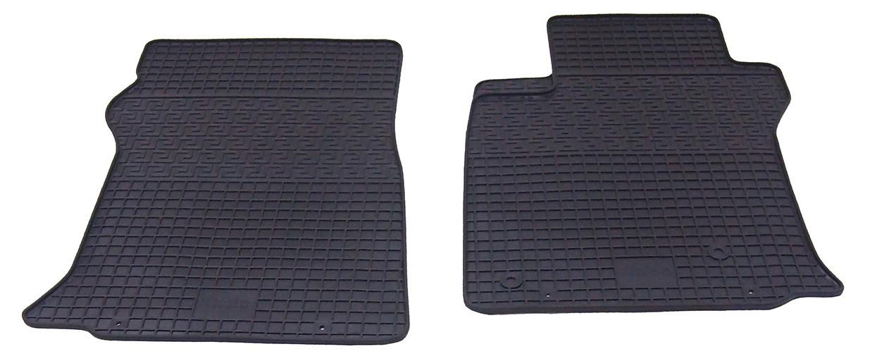 Коврики резиновые в салон для Lexus GX 470 2009- (ПЕРЕД) (PolyteP_LUX)