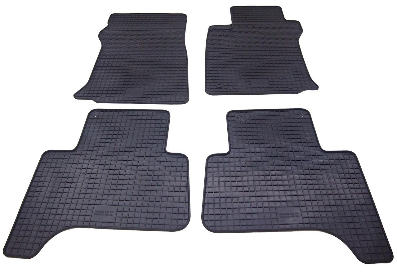 Коврики резиновые в салон для Lexus GX 470 2009- (PolyteP_LUX)