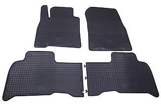 Коврики резиновые в салон для Lexus LX570 2008- (PolyteP_Clasic)