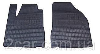 Коврики резиновые в салон для Lexus RX 2003- (ПЕРЕД) (PolyteP_LUX)