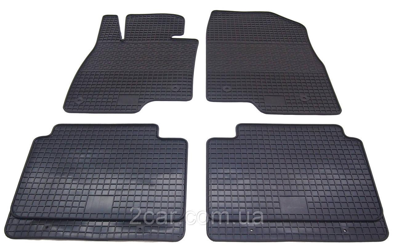 Коврики резиновые в салон для Mazda 6 2013- (PolyteP_Clasic)