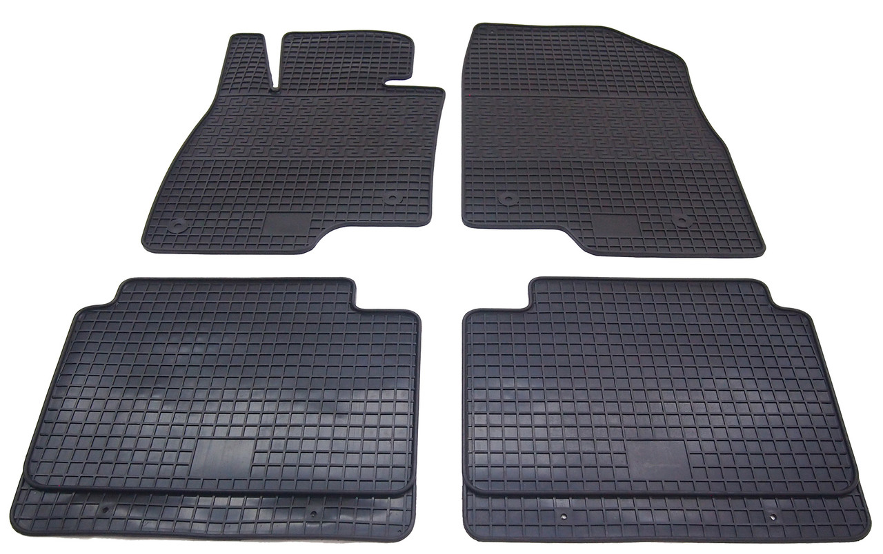 Коврики резиновые в салон для Mazda 6 2013- (PolyteP_LUX)