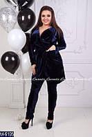 Женский костюм с брюками (ботал)