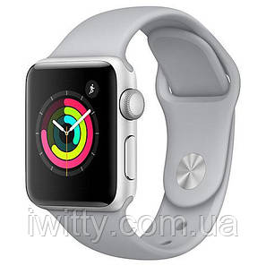 Watch Series 3 GPS 42mm Silver Aluminum with Fog Sport Band - Silver (MQL02), фото 2