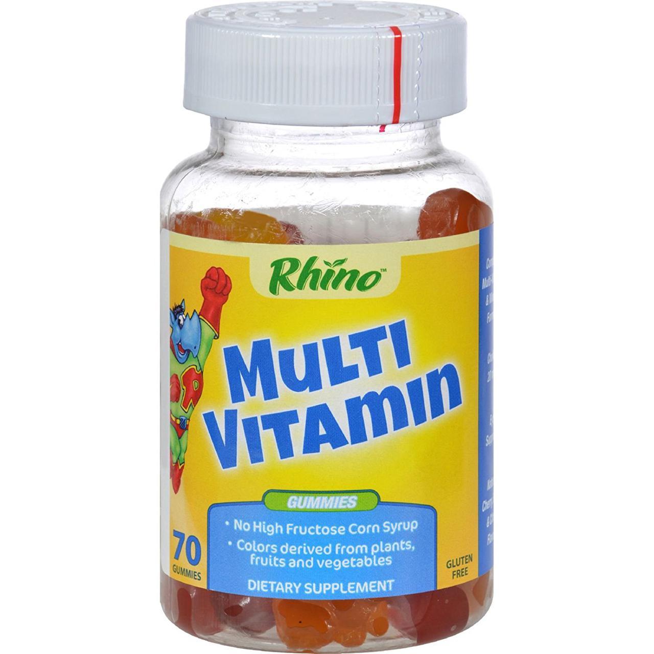 Nutrition Now Rhino  70 шт натуральные детские мультивитамины полного состава