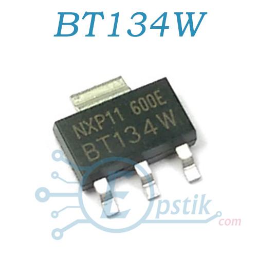 BT134W-600E, симистор 1А, 600В, SOT223