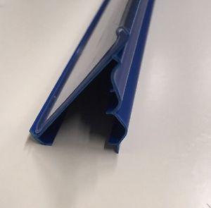 POS ценникодержатели стеллажные, держатели ценников LS-39 для стеллажей 1235мм