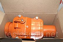 Обратный (запорный) клапан Мпласт Ø 50 канализационный, фото 3