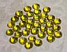 Стразы желтые, фото 2