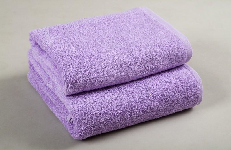 Полотенце махровое Lotus 50*90 лиловое