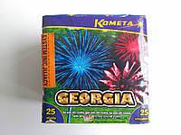 Фейерверк Салют GEORGIA Kometa 25 выстрелов (LDC 120)