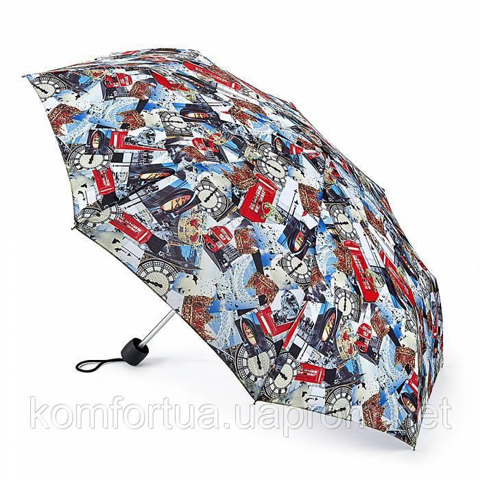 Женский зонт Fulton Minilite-2 L354 London Photographic лондонские фотографии
