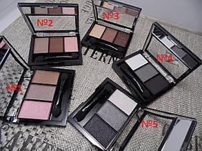 Тени для век BLESS Beauty Trio Fusion Eyeshadows