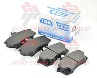 Колодки тормозные передние ВАЗ 2108-2110, Калина (комплект). 527TDK