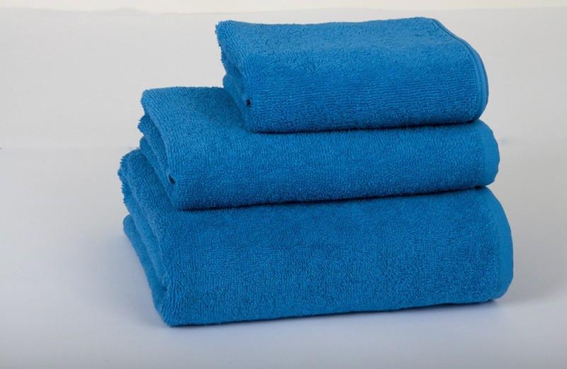 Полотенце махровое Lotus 50*90 синее
