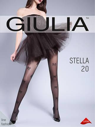 Колготы женские с узором GIULIA Stella 20 ден (3), фото 2