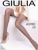 Колготы женские с узором GIULIA Jasmine 20 (3)