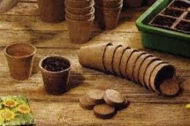 Торфяные изделия для рассады